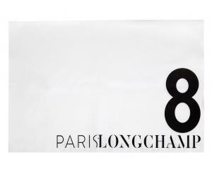 Tapis de selle ParisLongchamp officiel – Blanc